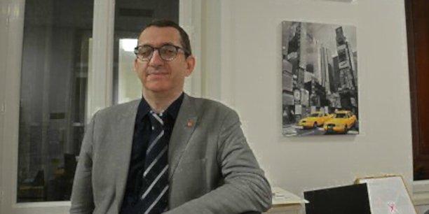 Sébastien Crozier, président national de la CFE-CGC (Confédération française de l'encadrement – Confédération générale des cadres) d'Orange