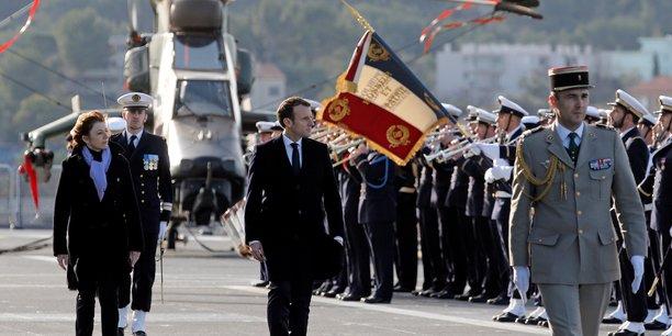 La loi de programmation militaire exempte le ministère des Armées du financement du Service militaire universel souhaité par Emmanuel Macron