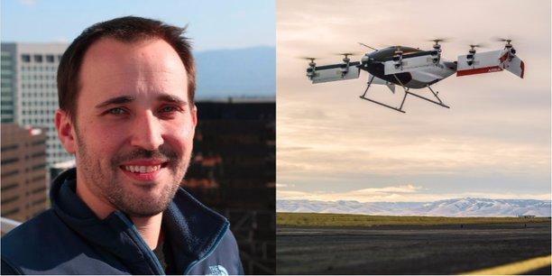 Zach Lovering est le responsable du projet Vahana. Un prototype du taxi volant a réalisé un premier vol d'essai le 31 janvier dernier.