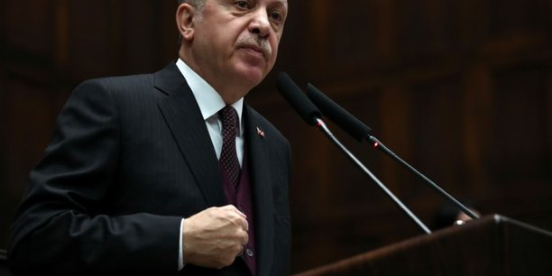 Erdogan denonce a nouveau le soutien americain aux milices kurdes ypg[reuters.com]