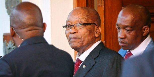Le président Jacob Zuma aurait demandé un délai de 3 mois avant de présenter sa démission à la tête du pays.