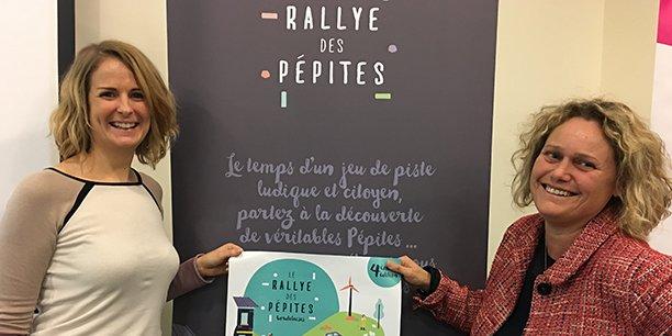 Clara Maumont et Ethel Le Bobinnec, cofondatrices de Vous Com'L et architectes du Rallye des pépites