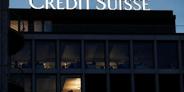 Credit suisse: la reforme fiscale us entraine une perte annuelle[reuters.com]