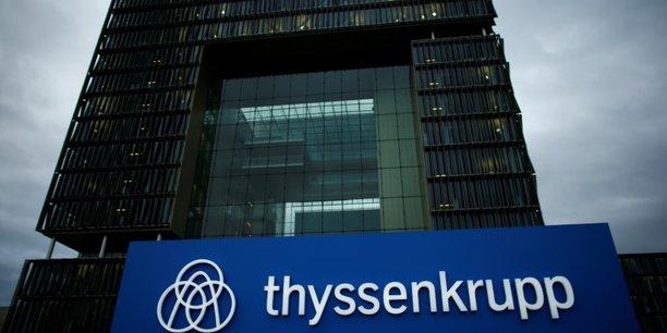 Thyssenkrupp: la siderurgie dope le benefice au 1er trimestre[reuters.com]