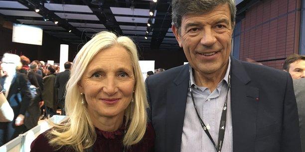 Clara Gaymard et Gonzague de Blignières