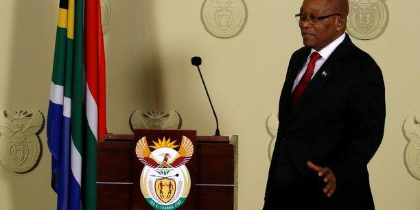 Le president sud-africain jacob zuma demissionne[reuters.com]