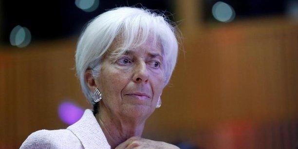 Christine Lagarde, DG du FMI