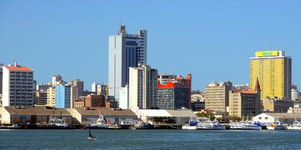 Vue sur Maputo, Mozambique.