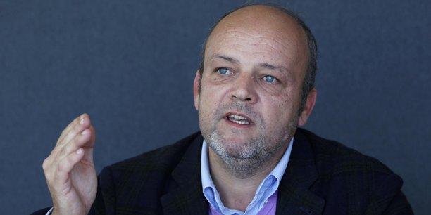 Jean-David Chamboredon, le président de France Digitale et ancien chef de file du mouvement des Pigeons.