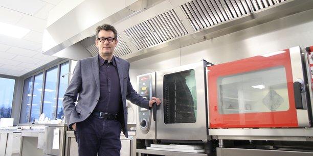 Vincent Lafaye, fondateur et CEO de Foodinnov Group. Installé au cœur du Technocampus Alimentation, à Nantes.   <p class=