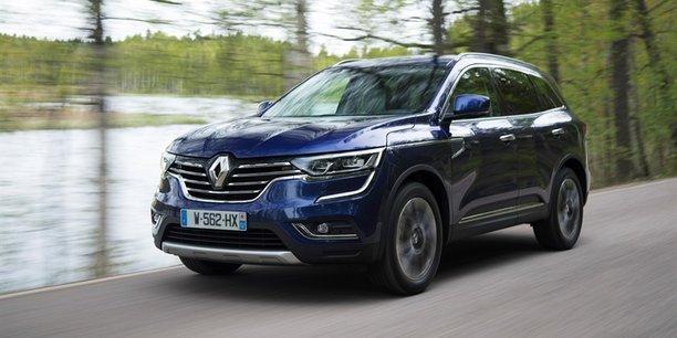 Le nouveau Koleos donne le meilleur de Renault en design mais également en agrément de conduite.