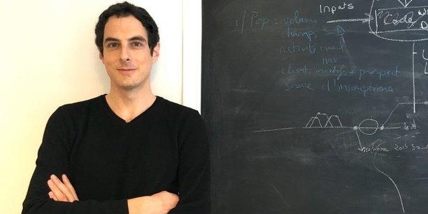 David Bessis, le fondateur et Pdg de Tinyclues.