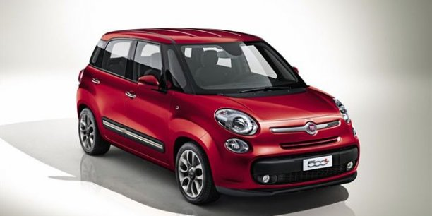 fiat 500l un charmant minispace agr able en diesel. Black Bedroom Furniture Sets. Home Design Ideas