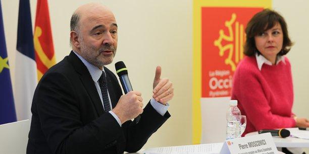 Le commissaire européen aux Affaires économiques et financières, à la Fiscalité et à l'Union douanière, Pierre Moscovici, est en visite dans la Région Occitanie lundi 26 et mardi 27 février.