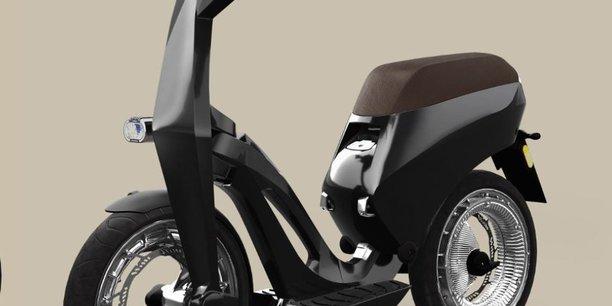 Découverte du nouveau scooter électrique fabriqué par la société Ujet