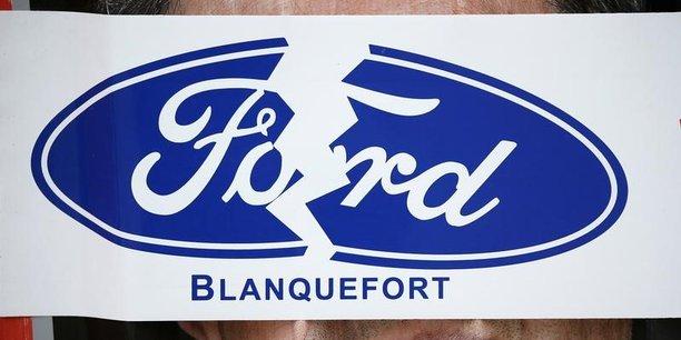 Ford cesse toute activité à Blanquefort en 2019.