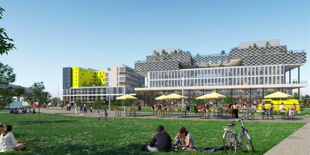 Le campus s'étendra sur six étages.