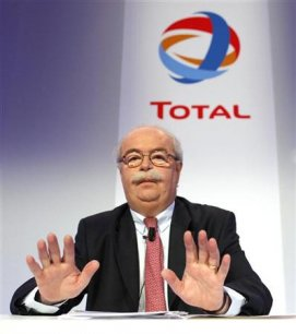 Le PDG de Total, Christophe de Margerie Copyright Reuters