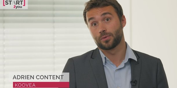 Adrien Content, CEO de Koovéa