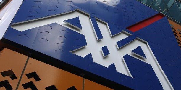 Le titre Axa chute de plus de 7% — Bourse