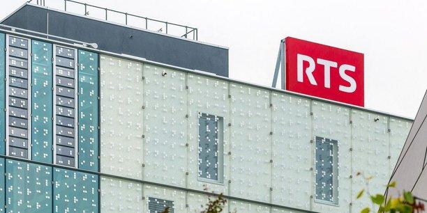 Le siège de la Radio Télévision Suisse, qui est financée à 75% par la redevance audiovisuelle.