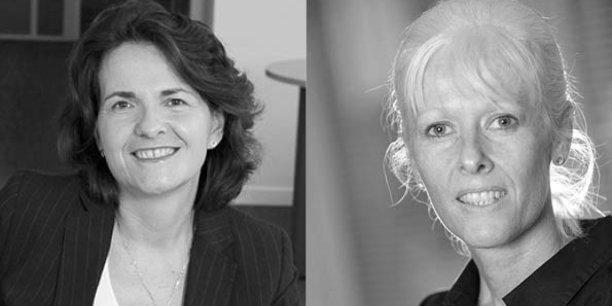 Delphine Maisonneuve et Agnès Tran-Pommel, coprésidentes de FinanciElles
