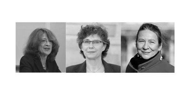 Annie Batlle, administratrice, Corinne Hirsch, cofondatrice et Olga Trostiansky, présidente du Laboratoire de l'Egalité