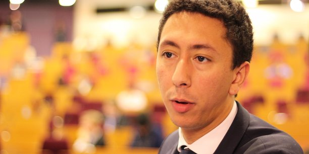 Othman Nasrou, Président du Groupe LR au Conseil Régional d'Ile-de-France.