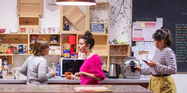 La Ruche Bordeaux a été créée il y a trois ans et demi et regroupe des entrepreneurs sociaux