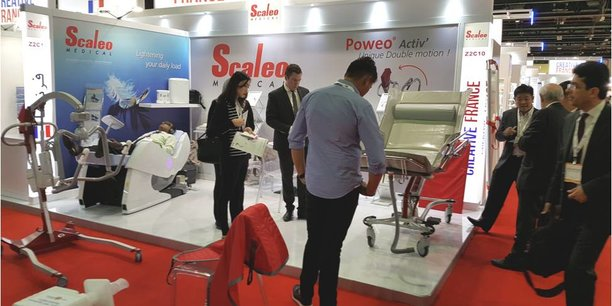 Scaleo Medical sur un salon étranger