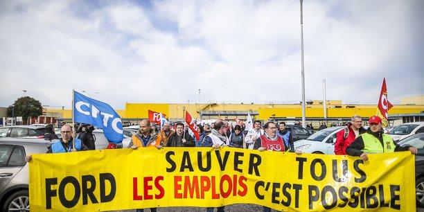 Les syndicats de Ford Aquitaine Industries ne lâchent rien .
