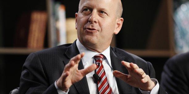 David Solomon, le Pdg de Goldman Sachs depuis sept mois, compte accélérer la stratégie de la banque d'affaires dans la gestion de fortune.
