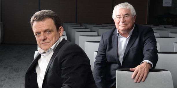 Laurent Fiard et Christian Donzel.