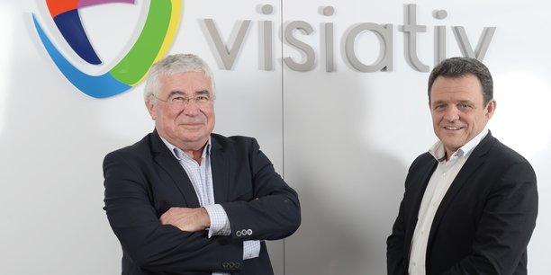 Christian Donzel et Laurent Fiard.