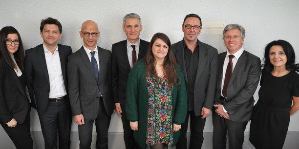 Les nouveaux décideurs économiques d'Occitanie ont été reçus dans les bureaux de la Tribune à Toulouse le 6 mars dernier.