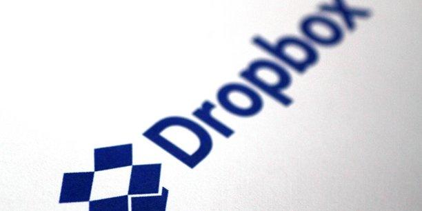 Dropbox dit avoir réalisé un chiffre d'affaires en hausse de 31% à 1,11 milliard de dollars en 2017.