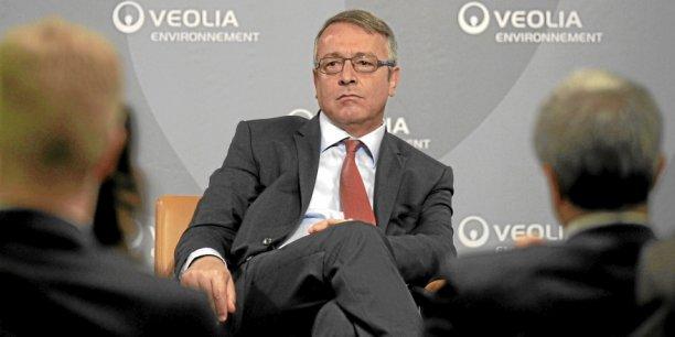 Antoine Frérot, PDG de Veolia. Copyright Reuters