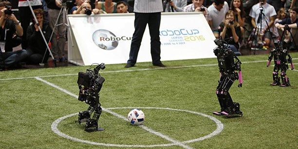 L'équipe Rhoban, projet de recherche scientifique du Laboratoire bordelais de recherche en informatique (Labri), a été sacrée deux fois consécutivement championne du monde lors de la Robocup