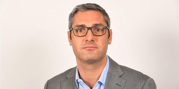 Raphaël Coing, directeur de clientèle chez Legrand.