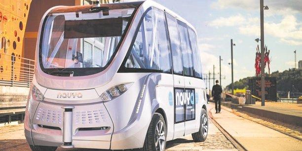 Navya teste des navettes autonomes de transport de passagers en France et ailleurs en Europe