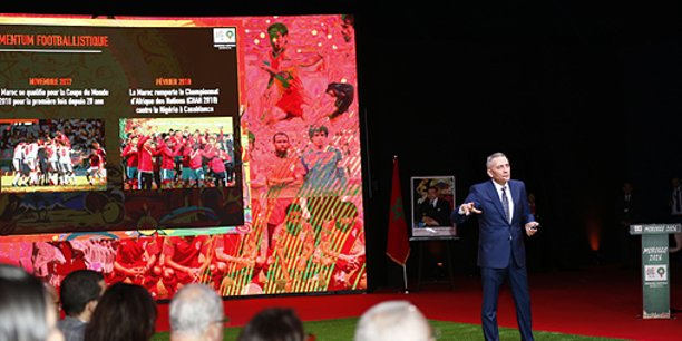 « Une somme certes importante mais qui, une fois échelonnée, ne coûtera que 4% du budget annuel de l'Etat », a indiqué Moulay Hafid Elalamy, président du Comité de candidature du Maroc pour l'organisation de la Coupe du monde 2026.