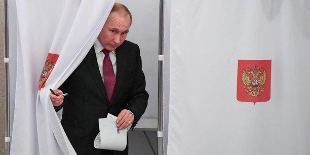Le président Vladimir Poutine a été désigné à la tête de la Russie jusqu'en 2024.