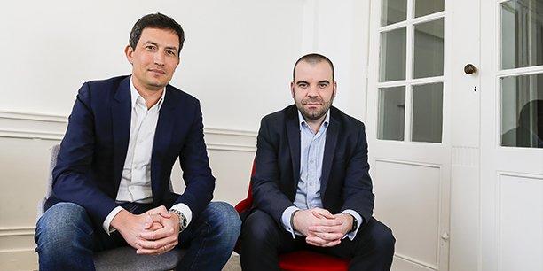 Jérémie Manigne et Nicolas Calmon, respectivement directeur général et responsable développement Sud-Ouest de Niji