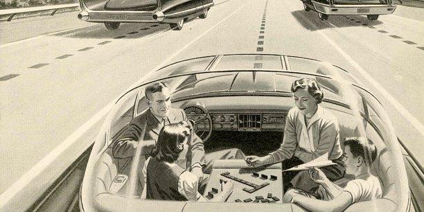 voiture sans chauffeur nouveaux potentiels de vie mais. Black Bedroom Furniture Sets. Home Design Ideas
