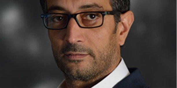 Lahouari Kaddouri, fondateur de LKSpatialis à Montpellier.