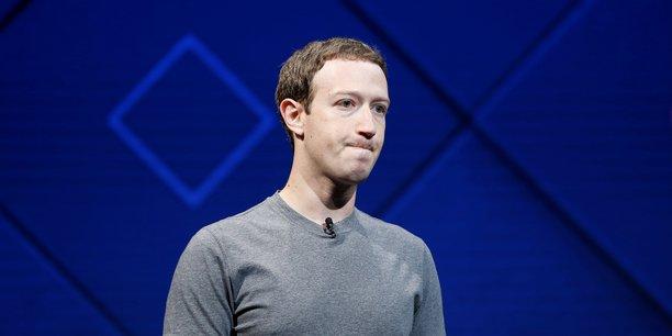 Mark Zuckerberg, Pdg et co-fondateur du premier réseau social au monde (2,13 milliards d'utilisateurs), lors d'une conférence le 18 avril 2017 à San José (Californie).