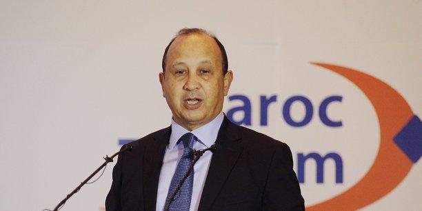 Abdeslam Ahizoune, président du Directoire de Maroc Telecom.
