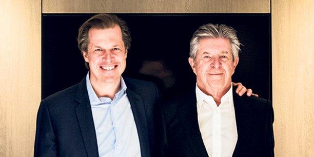 Robert et Jean-Louis Bouchard.
