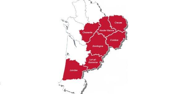 Le réseau d'initiative publique régional s'étend sur sept départements de Nouvelle-Aquitaine. 500.000 prises doivent être commercialisées d'ici 2022.