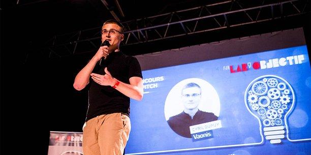 Cyril Dupuy, fondateur de Vaonis, start-up lauréate du concours de pitchs